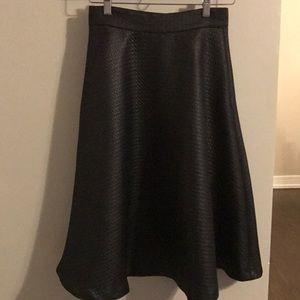 Black Banana Republic Midi Skirt. 2 PETITE